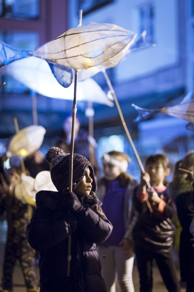Lantern Procession 'On Tenterhooks'