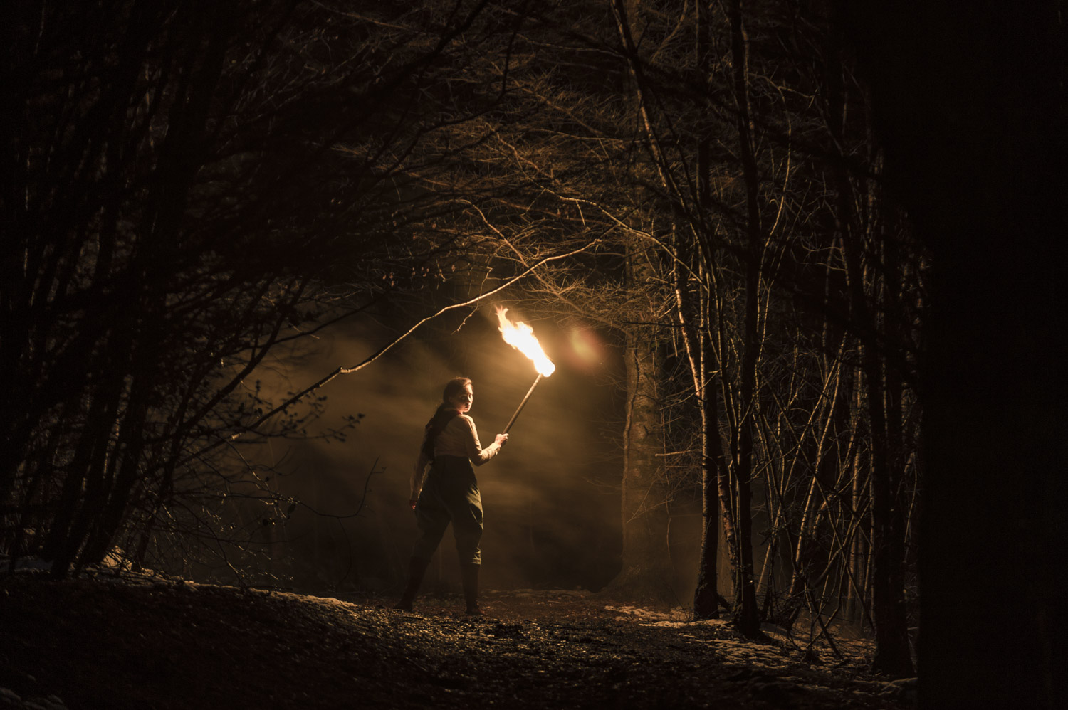 Photo by Theo Moye 21/03/18 Burn the Curtain's Hunting the Snark promo/press photos at Haldon Forest Park, Exeter.
