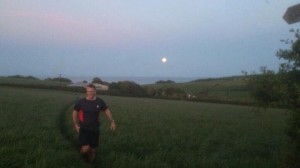 Running with the moon